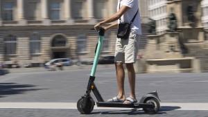 E-Tretroller künftig auch in Wiesbaden