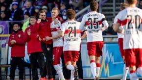 Zweite Bundesliga: VfB siegt mühelos, Arminia gewinnt gegen Bochum