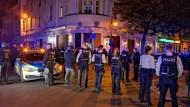 Herne: Hier hat es eine Massenschlägerei zwischen Türken und Kurden gegeben.