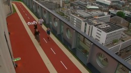 Ein Wettlauf über den Dächern von London