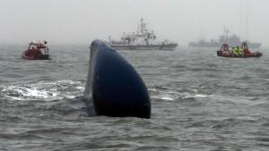 """Reederei-Chef der """"Sewol"""" festgenommen"""