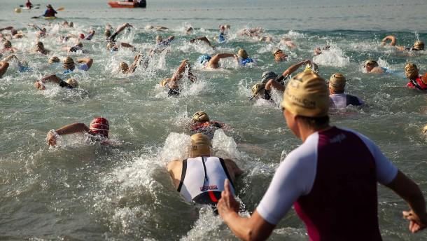 Startschuss für den City-Triathlon
