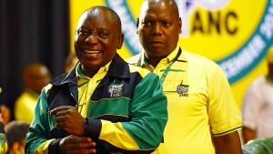 ANC wählt Ramaphosa zum Vorsitzenden