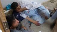 Amerikaner bombardieren Krankenhaus trotz Warnungen