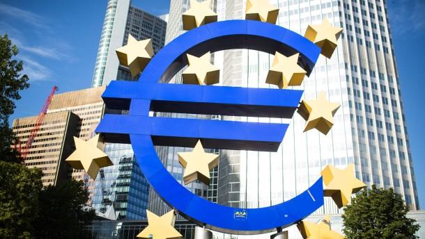 EZB dämpft Spekulation auf negativen Einlagenzins