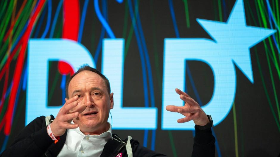 Max Conze, Vorstandsvorsitzender der Pro Sieben Sat 1 Media SE