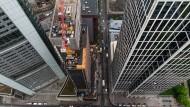 Global Tower: Unter diesem Namen wird der alte Commerzbank-Turm in Frankfurt modernisiert.