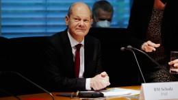 Scholz stellt sich Finanzausschuss