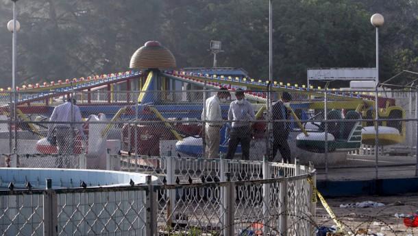 Religionslehrer sprengt sich auf Spielplatz in die Luft