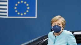 Merkel fordert geschlossene EU-Antwort