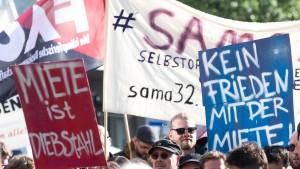 Auftakt für die Maidemonstrationen
