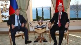 Syrien wirft Türkei Vertragsbruch in Idlib vor