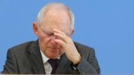 SPD attackiert Schäuble wegen Rücktrittsdrohung