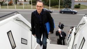 Maas hängt wegen defekten Flugzeugs in Mali fest
