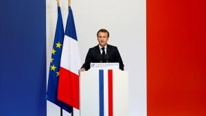 Sprengsätze kurz vor Macron-Besuch auf Korsika entdeckt