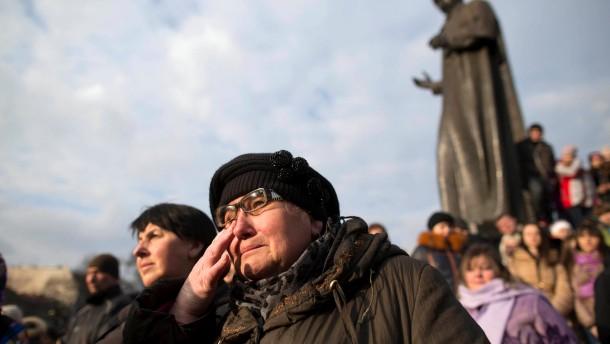 Freiheit oder Janukowitsch