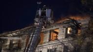 Großbrand in New Yorker Wohnhaus am Freitagnachmittag