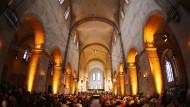 Monumental: Schon 2014 sollte mit der Erneuerung der Basilika von Kloster Eberbach begonnen werden, doch die Arbeiten werden immer wieder verschoben.