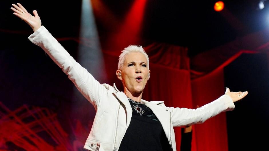 Mit dem Pop-Duo Roxette feiert Marie Fredriksson in den 90er Jahren Welterfolge.
