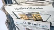 Deutschlands Führungskräfte lesen die F.A.Z.