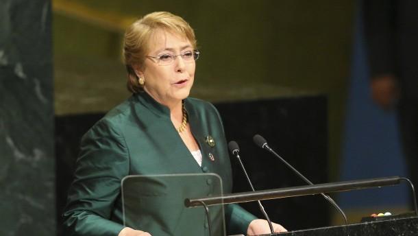 Michelle Bachelet als UN-Kommissarin für Menschenrechte gewählt