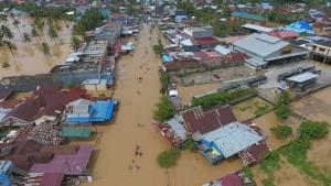Schwere Überschwemmungen in Indonesien