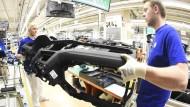 Die VW-Produktion in Wolfsburg.