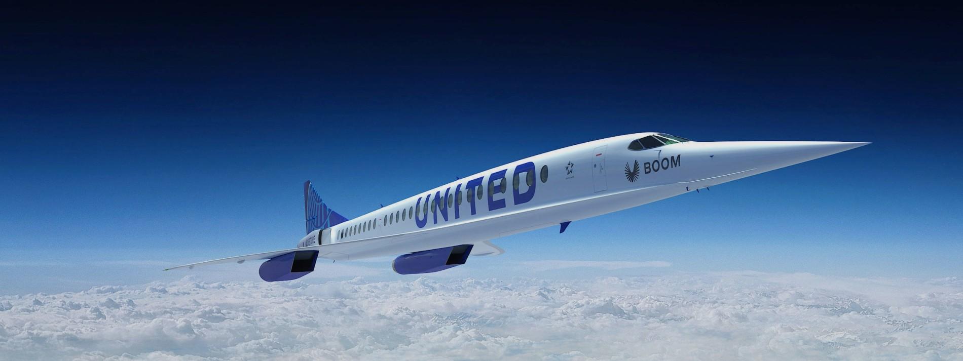United Airlines bestellt zahlreiche Überschall-Flugzeuge