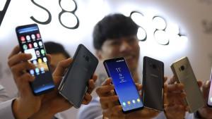Samsung lässt Debakel um Galaxy Note 7 vergessen