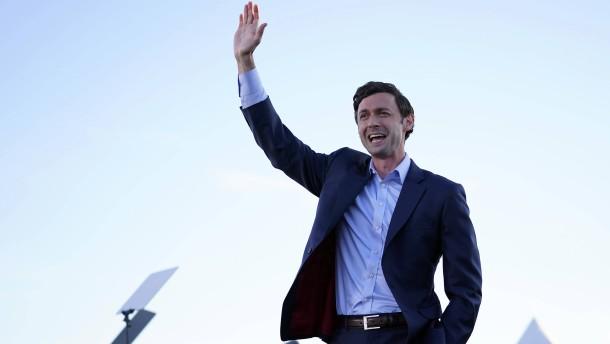 Demokrat Ossoff erklärt sich zum Sieger in Georgia