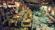 Hier wird nicht mehr gefördert: In Schacht 10 werden die Anlagen zurückgebaut.