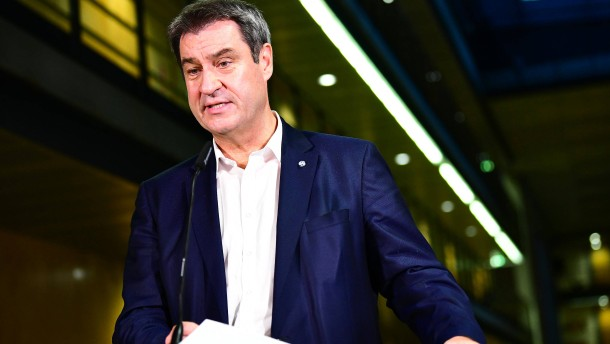 Söder: Kein Anbiedern um jeden Preis bei Grünen und FDP