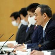 Japans Premierminister Yoshihide Suga Mitte Dezember in Tokio