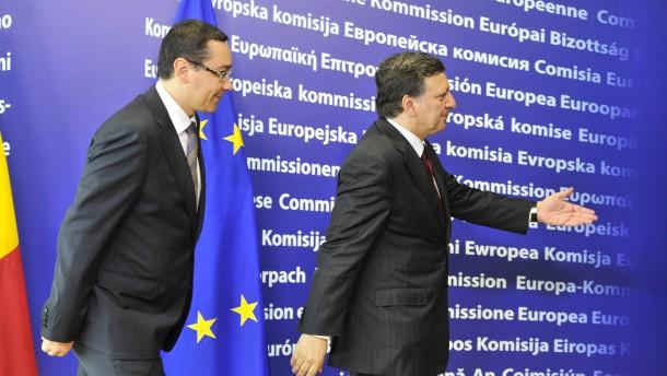 Rumänien will sich EU-Forderungen beugen