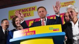 FDP kehrt in den Bundestag zurück