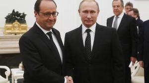 Putin: Nur Bodentruppen können den Terror in Syrien besiegen