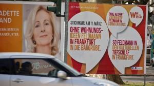 Streit um Anti-Feldmann-Plakate