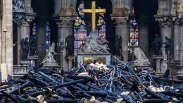 Enorme Spendenbereitschaft für Notre-Dame
