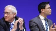 Einigung im Machtkampf? Brüderle (links) und Rösler (rechts) führen die FDP in die Bundestagswahl