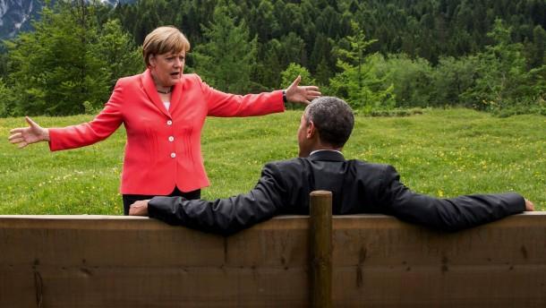 Merkels grellste Waffe