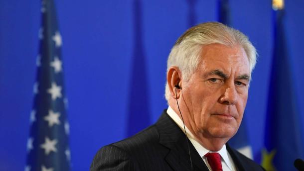 Tillerson: Botschaft wahrscheinlich nicht vor 2019 in Jerusalem