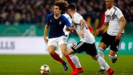 Deutschland überzeugt gegen Frankreich
