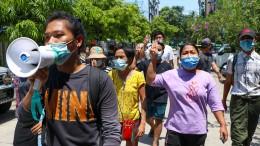Junge Aktivisten kämpfen die Zensur in Myanmar