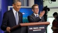 Obamas Pressesprecher tritt zurück