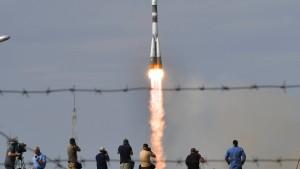 Sojus-Rakete mit Alexander Gerst erfolgreich gestartet