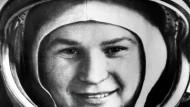 Im All: Tereschkowa im Jahr 1963