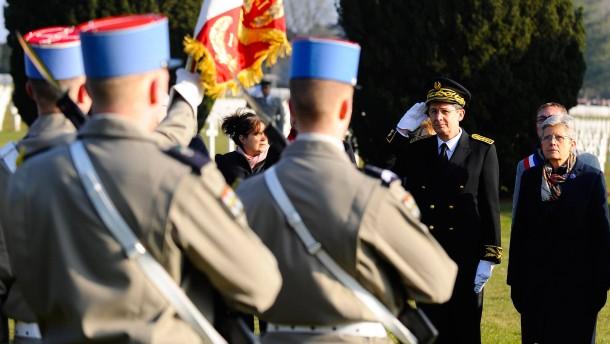 Toter aus dem Ersten Weltkrieg jetzt erst beigesetzt
