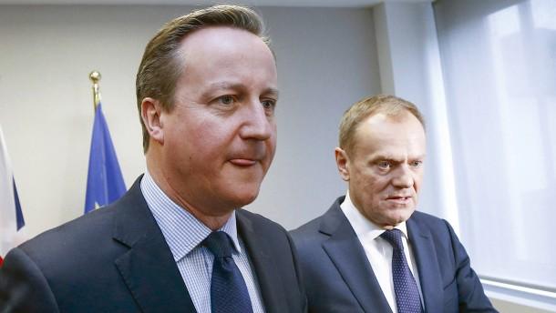 "Cameron fordert Ausschluss von ""No Deal"""