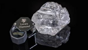 Unser Licht heißt der neue Jahrhundertdiamant