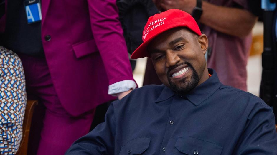 Der Rapper und ehemalige Trump-Fan Kanye West will den Präsidenten bei den Wahlen herausfordern.
